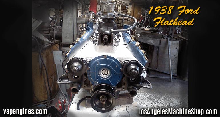 1938 Ford Flathead Engine Rebuild shop