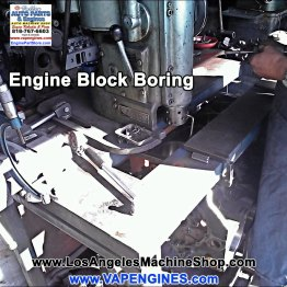 Engine block boring in los angeles