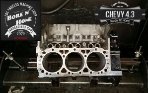 bore and hone Chevy 4.3 engine block