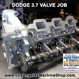 Dodge 3.7 valve job