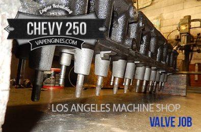 chevy 250 4.1 valve job