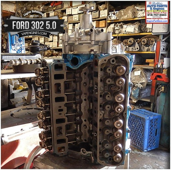 Ford 302 5.0 rebuilt long block