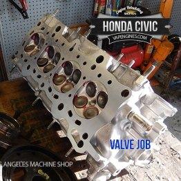 Honda civic valve job