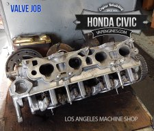 Honda Civic cylinder head repair