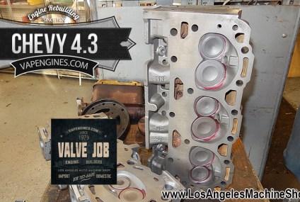 Chevy 4.3 Valve Job