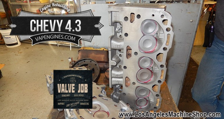 Chevy 4.3 Cylinder Head Valve Job