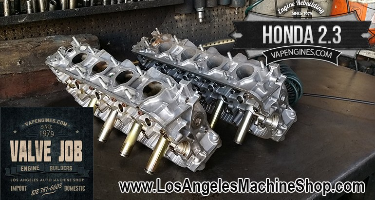 Honda Cylinder Head Valve Job Shop