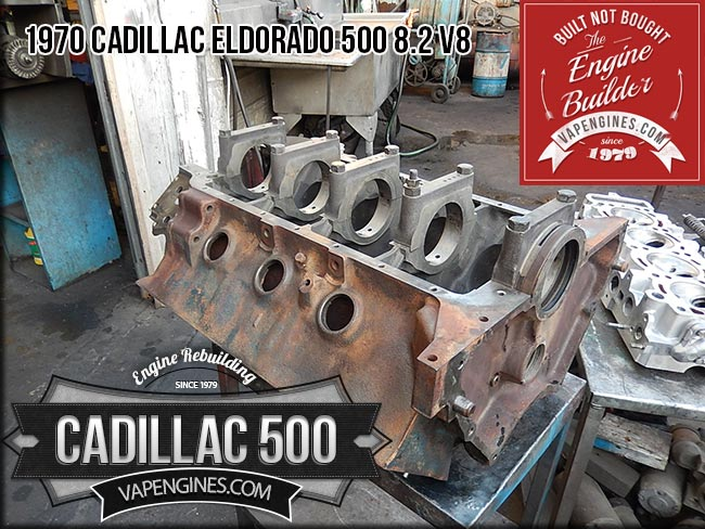 Cadillac Eldorado 500 8.2 engine block