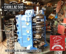 Crank side- Cadillac 500 8.2 engine