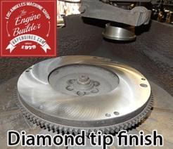 diamond tip flywheel surface