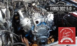 89 Ford Mustang 302 long block engine rebuild  Los