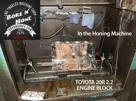 hone toyota 20r engine block