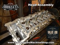 Toyota cylinder head assembly