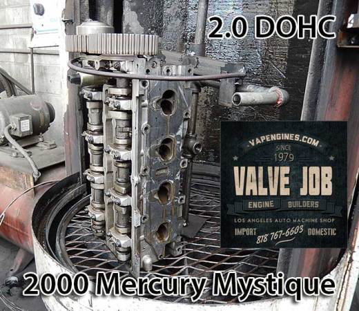 hot tank mercury cylinder head