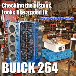 piston fit on engine block- buick special