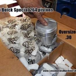 Egge pistons on buick special 264