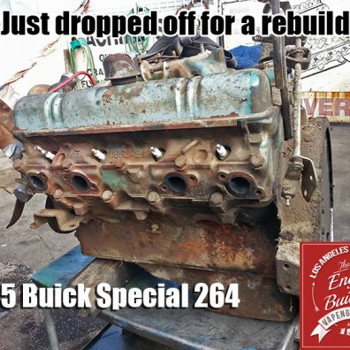 55 buick special 264 before rebuild