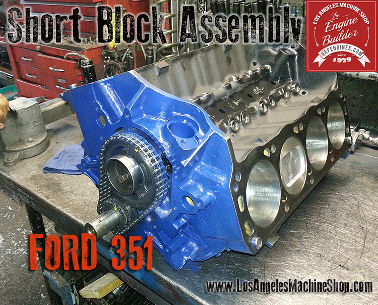 ford 351 short block assembly