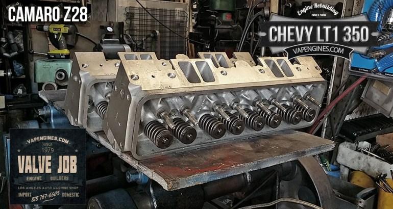GM chevy 350 LT1 valve job