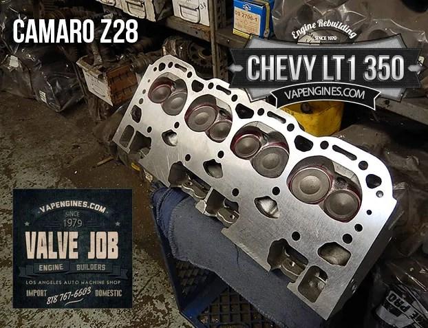 GM LT1 350 5.7 valve job