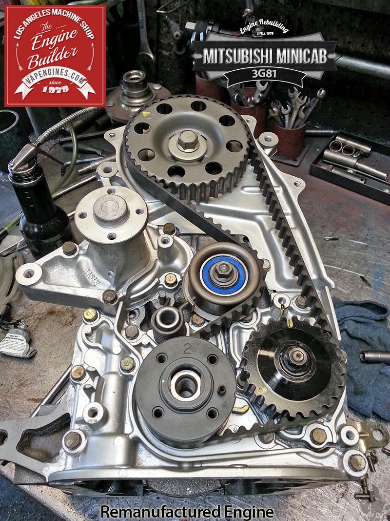 medium resolution of mitsubishi minicab 3g81 remanufactered engine los angeles machine shop engine rebuilder auto parts store
