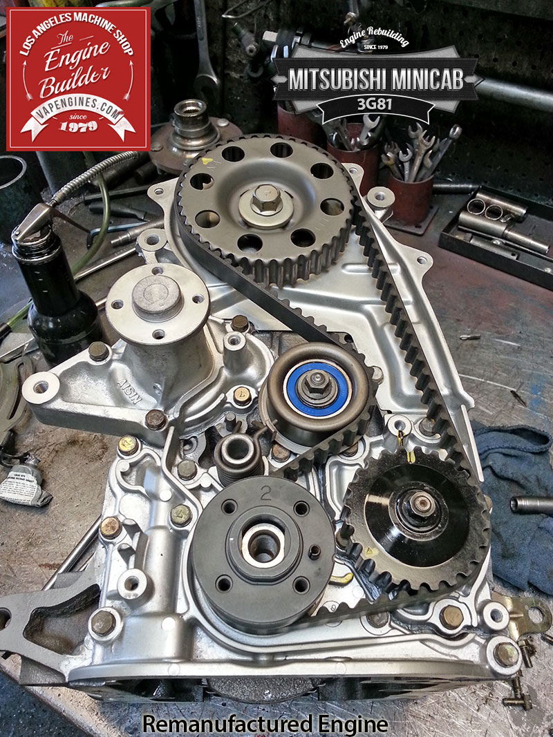 hight resolution of mitsubishi minicab 3g81 remanufactered engine los angeles machine shop engine rebuilder auto parts store