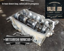 cylinder head teardown