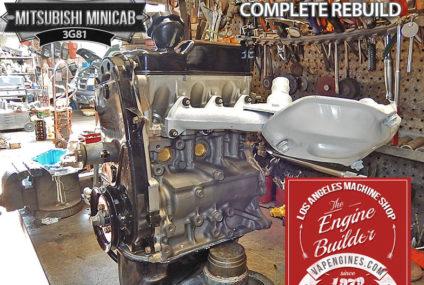 Mitsubishi Minicab 3G81 remanufactered Engine