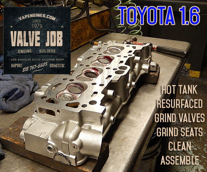 Corolla 1.6 cylinder head repair