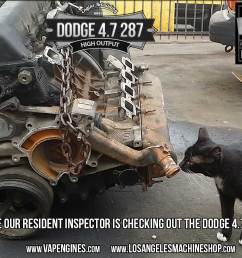 dodge 4 7 engine inspection [ 1416 x 1007 Pixel ]