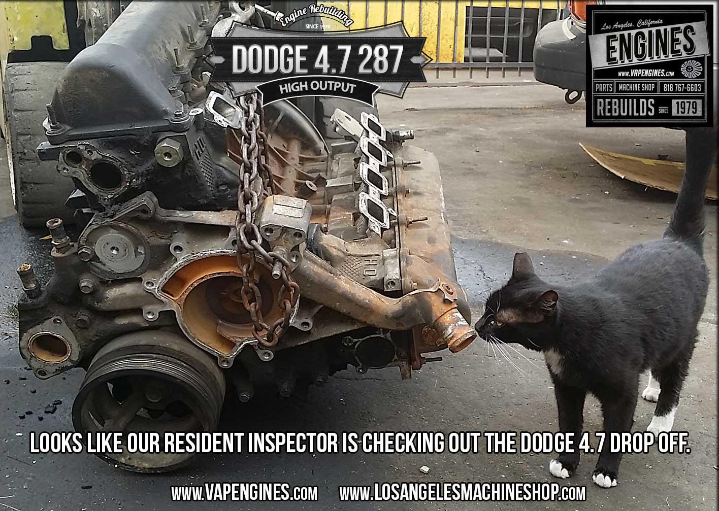 hight resolution of dodge 4 7 engine inspection