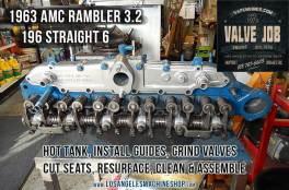 AMC Rambler 196 valve job