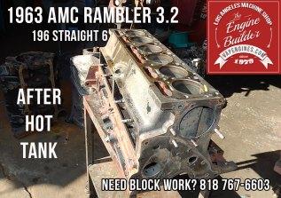 Degreased in hot tank Rambler 196 block