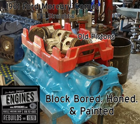Mercury Comet Block work
