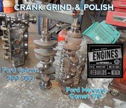 Mercury Comet 170 crank grind