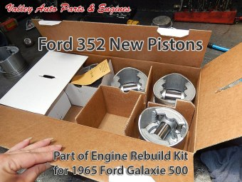 Pistons for Ford 352 5.8