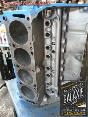 Engine block on 65 Ford Galaxie 500 352 5.8