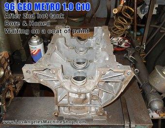 Geo Metro block work-Los Angeles