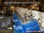 Rebuilt cylinder head Ford Galaxie 500 352