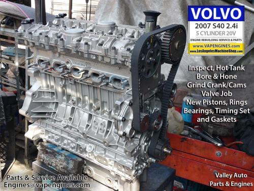 small resolution of 07 volvo s40 2 4i engine rebuild los angeles machine shop engine rh losangelesmachineshop com 2004