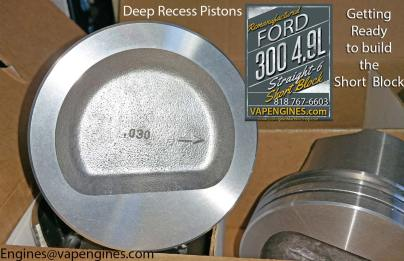 ford 4.9l pistons