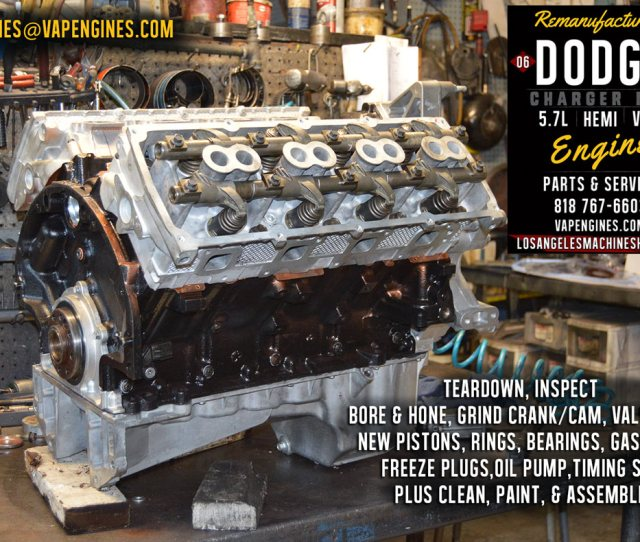 Rebuilt Dodge Hemi 5 7 Engine