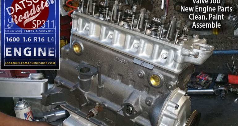 Remanufactured Datsun Roadster 1600 Engine