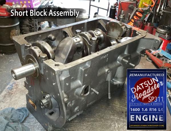 Datsun Roadster 1600 Short Block