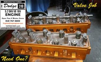 dodge 318 cylinder head assembly