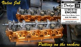Dodge 318 rocker assembly