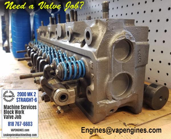 triumph 2000 mk2 valve job