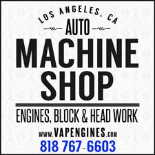 Los Angeles Machine Shop- Engine Rebuilder Auto Parts Store