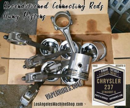 Chrysler 237 hung pistons