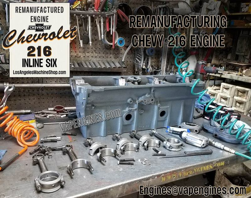 GM Chevy 216 reconditioned connecting rods